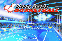 Disney Sports Basketball (J)(Mugs) Title Screen