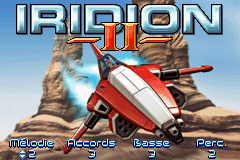 Iridion II (E)(Eurasia) Title Screen