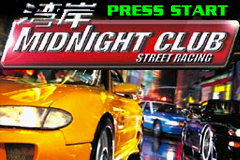 Midnight Club - Street Racing (E)(DNL) Title Screen