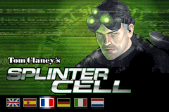 Tom Clancy's Splinter Cell (E)(Patience) Title Screen