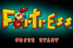 Fortress (E)(wC) Title Screen
