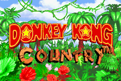 Donkey Kong Country (U)(Evasion) Title Screen