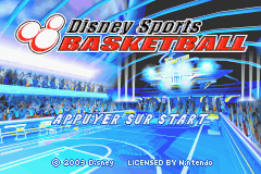 Disney Sports Basketball (E)(Surplus) Title Screen