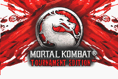 Mortal Kombat - Tournament Edition (U)(Mode7) Title Screen