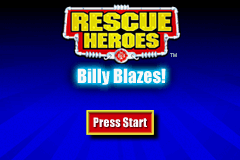 Rescue Heroes Billy Blazes (U)(Mode7) Title Screen