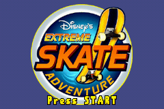 Disney's Extreme Skate Adventure (U)(Hyperion) Title Screen