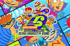 Rocket Power - Zero Gravity Zone (U)(Mode7) Title Screen