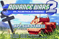Advance Wars 2 - Black Hole Rising (E)(Surplus) Title Screen