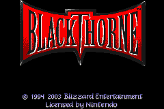 Blackthorne (U)(Mode7) Title Screen