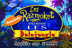 Les Razmoket rencontrent les Delajungle (F)(Patience) Title Screen
