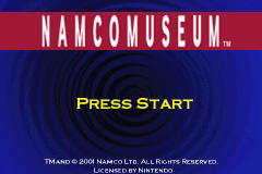 Namco Museum (E)(Independent) Title Screen