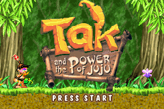 Tak And The Power of JuJu (U)(Hyperion) Title Screen