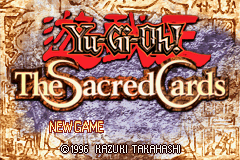 Yu-Gi-Oh! - The Sacred Cards (U)(Venom) Title Screen