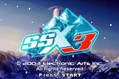 SSX 3 (U)(Evlstar) Title Screen
