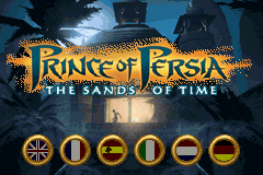 Prince of Persia - The Sands of Time (E)(Rising Sun) Title Screen