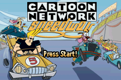 Cartoon Network - Speedway (U)(Venom) Title Screen