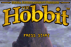 The Hobbit (U)(Evasion) Title Screen