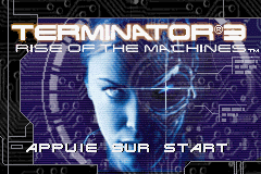Terminator 3 - Rise of The Machines (E)(Rising Sun) Title Screen