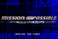 Mission Impossible - Operation Surma (E)(Rising Sun) Title Screen
