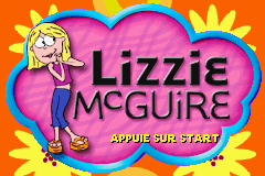 Lizzie McGuire (E)(Rising Sun) Title Screen