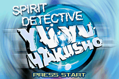 Yu Yu Hakusho - Spirit Detective (U)(Mode7) Title Screen