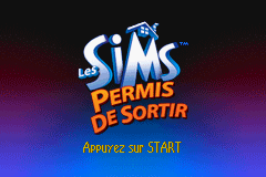 The Sims - Bustin Out (U)(Mode7) Title Screen