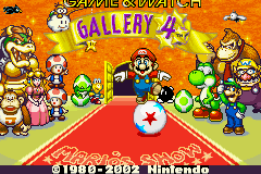 Game & Watch Gallery 4 (U)(Evlstar) Title Screen