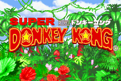 Super Donkey Kong (J)(Rising Sun) Title Screen