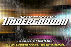 Need For Speed - Underground (U)(Mode7) Title Screen