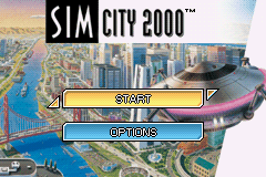 Sim City 2000 (U)(GBANow) Title Screen