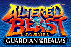 Altered Beast - Guardian of the Realms (E)(TrashMan) Title Screen