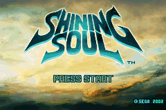 Shining Soul (U)(Independent) Title Screen