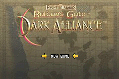 Baldurs Gate - Dark Alliance (U)(Hyperion) Title Screen