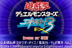 Yu-Gi-Oh! Duel Monsters Expert 3 (J)(WRG) Title Screen