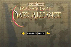Baldur's Gate - Dark Alliance (E)(Cezar) Title Screen