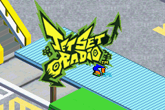 Jet Set Radio (E)(Rising Sun) Title Screen