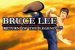 Bruce Lee - Return of the Legend (U)(Independent) Title Screen