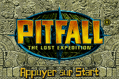 Pitfall - The Lost Expedition (F)(Rising Sun) Title Screen