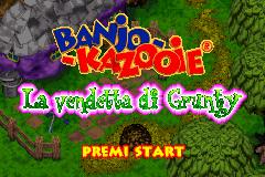 Banjo Kazooie La Vendetta Di Grunty Itrashman Rom Gba Roms