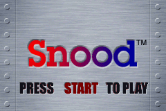 Snood (E)(Independent) Title Screen