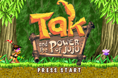 Tak And The Power Of JuJu (E)(Rising Sun) Title Screen