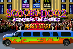 Scooby-Doo 2 - Monsters Unleashed (U)(Hyperion) Title Screen