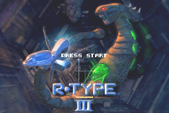 R-Type III (U)(Independent) Title Screen