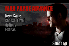 Max Payne Advance (E)(Rising Sun) Title Screen