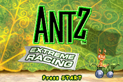 Antz Extreme Racing (U)(Independent) Title Screen