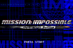 Mission Impossible - Operation Surma (U)(TrashMan) Title Screen