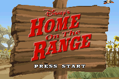 Disney's Home on the Range (U)(Mode7) Title Screen