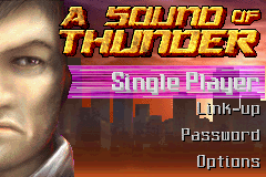 A Sound of Thunder (E)(Rising Sun) Title Screen