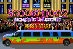 Scooby-Doo 2 - Monster Unleashed (E)(Rising Sun) Title Screen