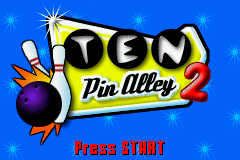 Ten Pin Alley 2 (U)(Rising Sun) Title Screen